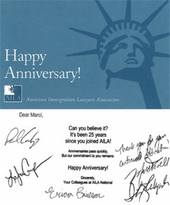 happy anniversery immigration lawyer